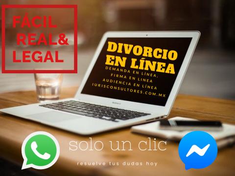 Divorcio en línea en CDMX