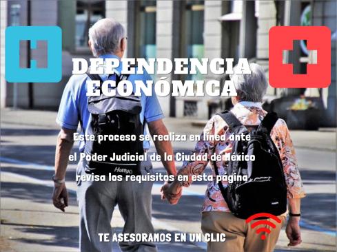 DEPENDENCIA ECONÓMICA EN LINEA CDMX
